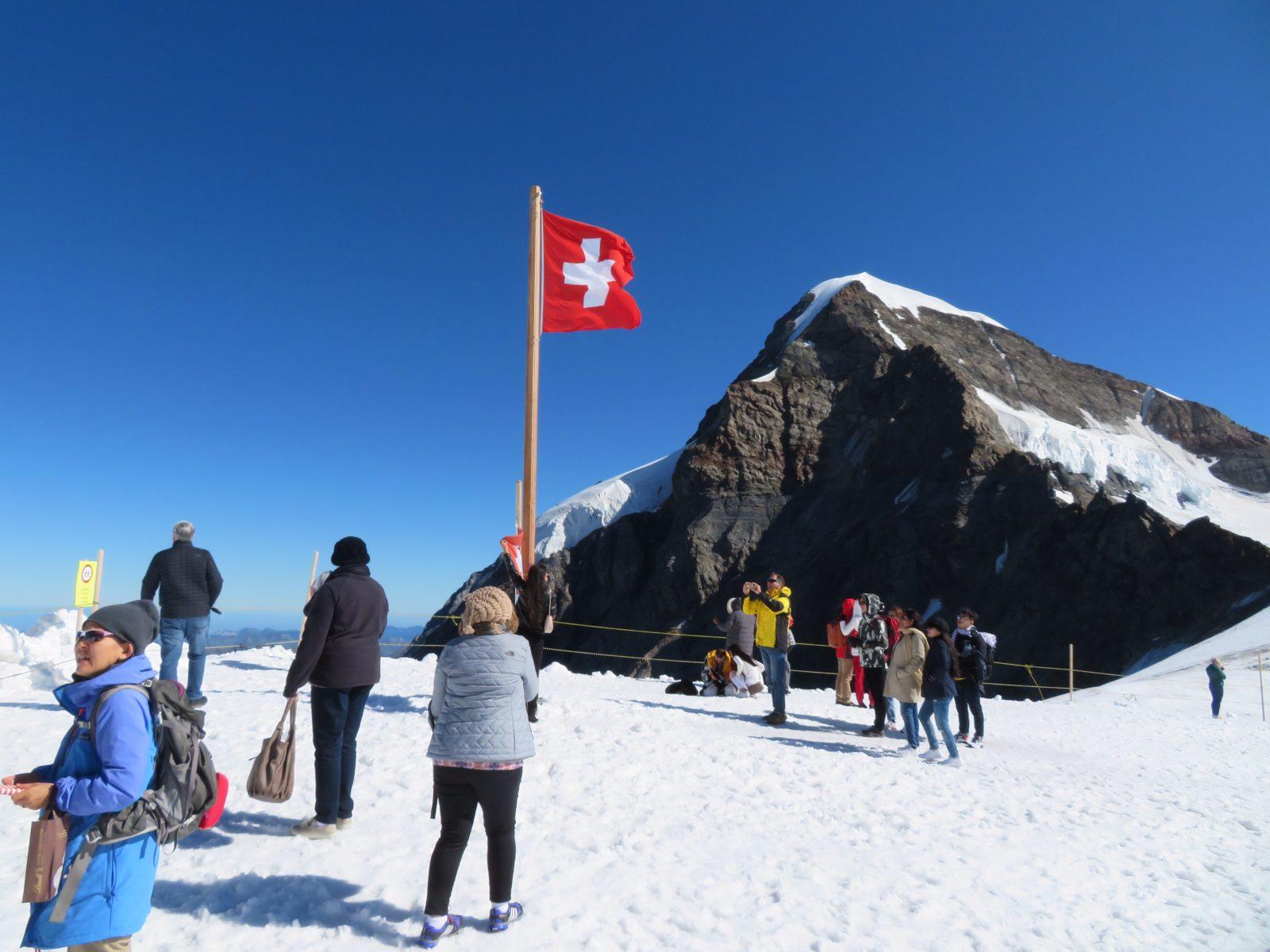 Grindelwald and the Jungfrau
